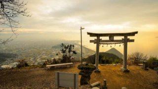 香川 高屋神社本宮 天空の鳥居