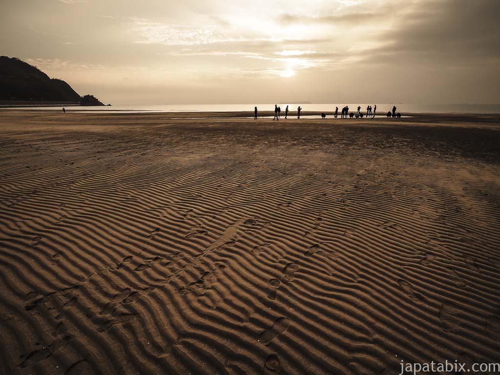 香川 父母ヶ浜の砂浜