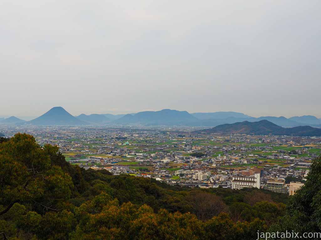 香川 金刀比羅宮 展望台からの眺望