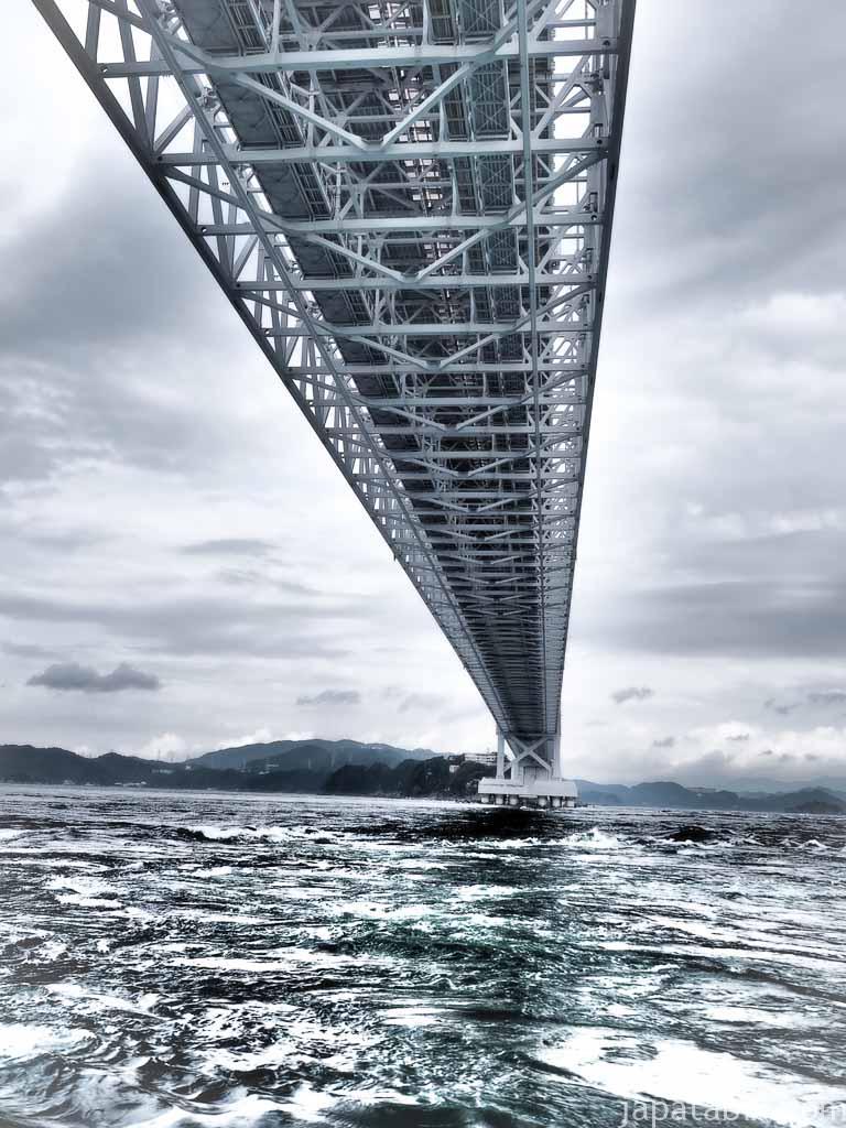 徳島 鳴門海峡 大鳴門橋