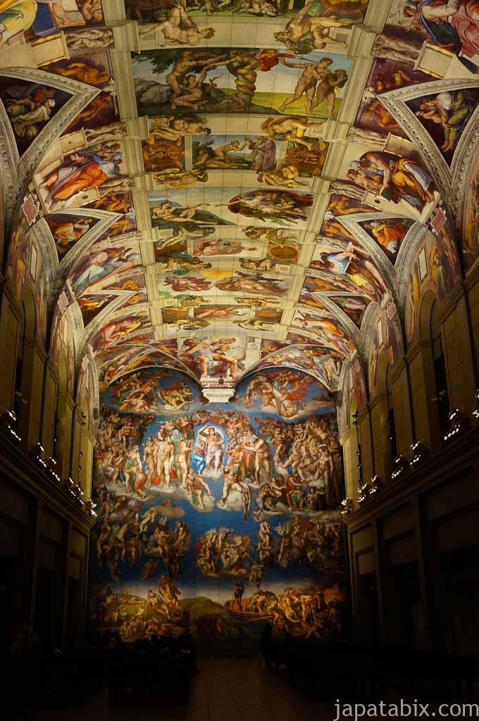 大塚国際美術館 スクロヴェーニ礼拝堂