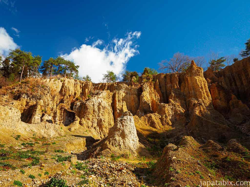 徳島 阿波の土柱