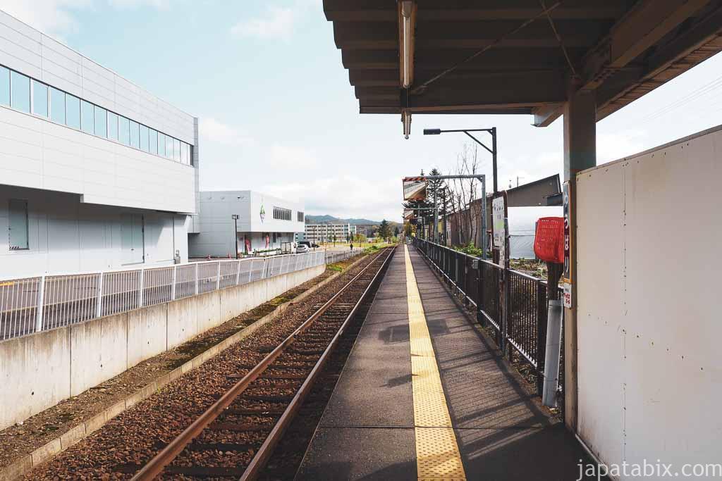 夕張駅 ホーム