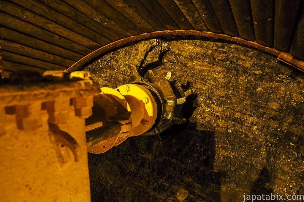 夕張市石炭博物館 模擬坑道