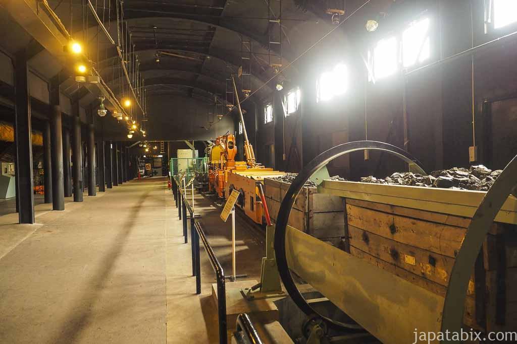 夕張市石炭博物館 地下展示室