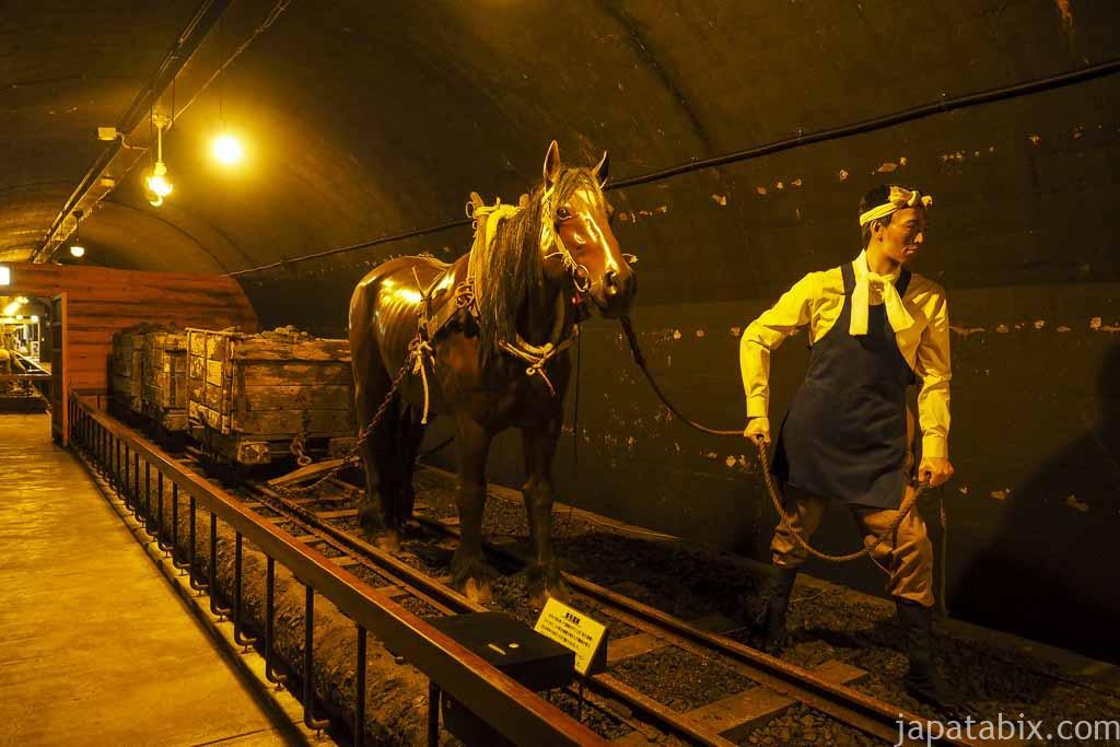 夕張市石炭博物館 地下展示室 当時の再現