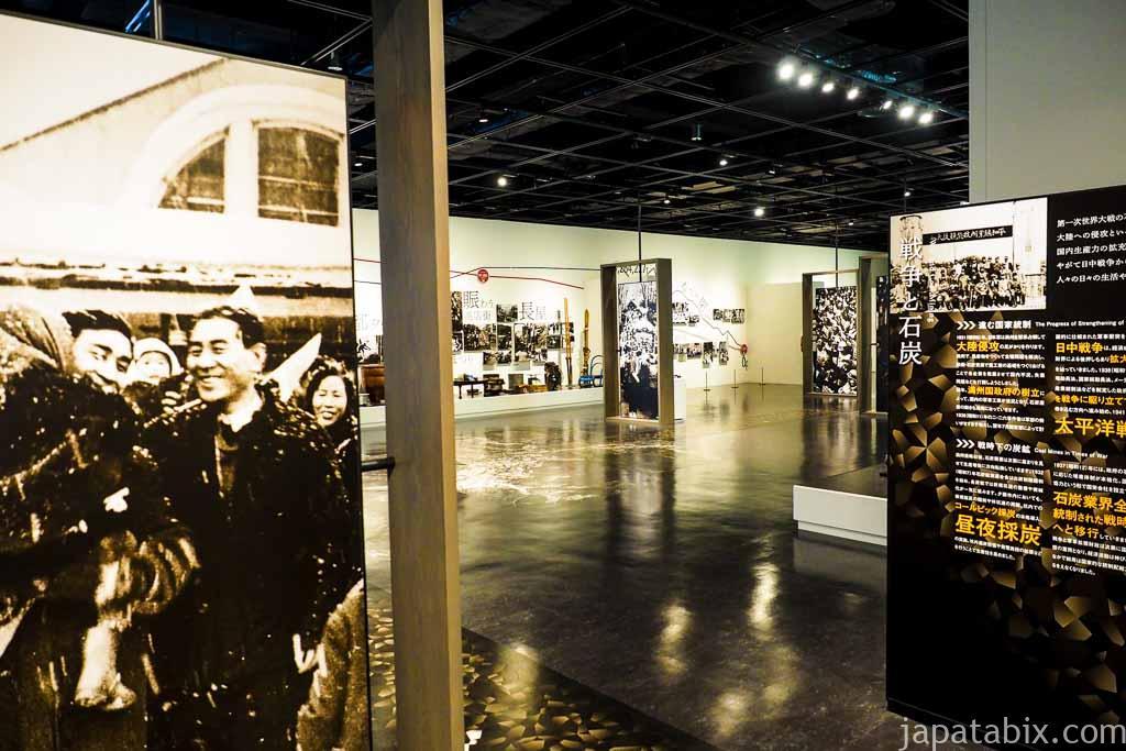 夕張市石炭博物館 本館展示室