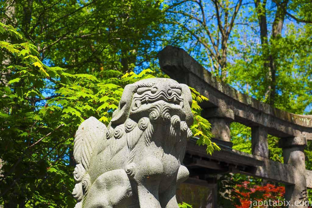 旭川神社 狛犬
