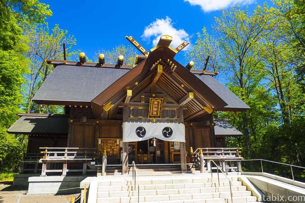 旭川神社 本殿