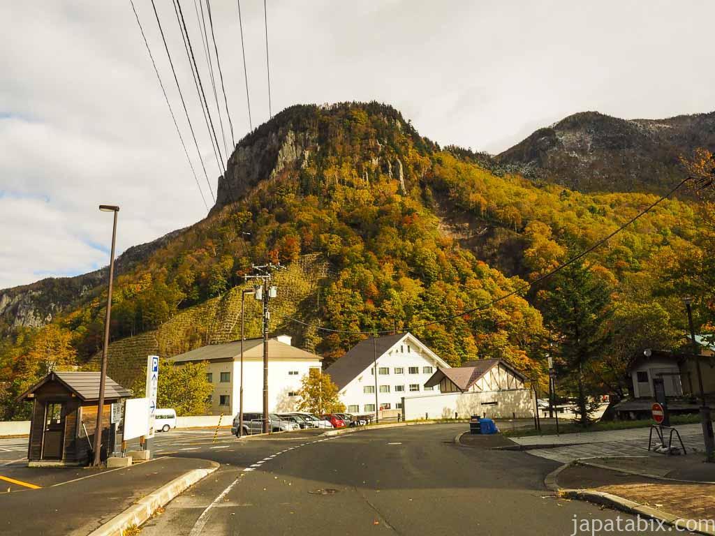 北海道 層雲峡 黒岳ロープウェイ周辺の紅葉