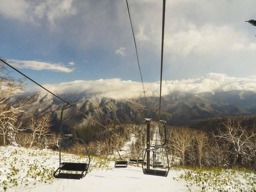 北海道 層雲峡 黒岳 リフト