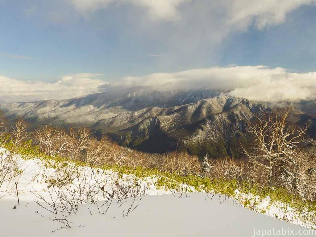 北海道 層雲峡 黒岳7合目からの眺め