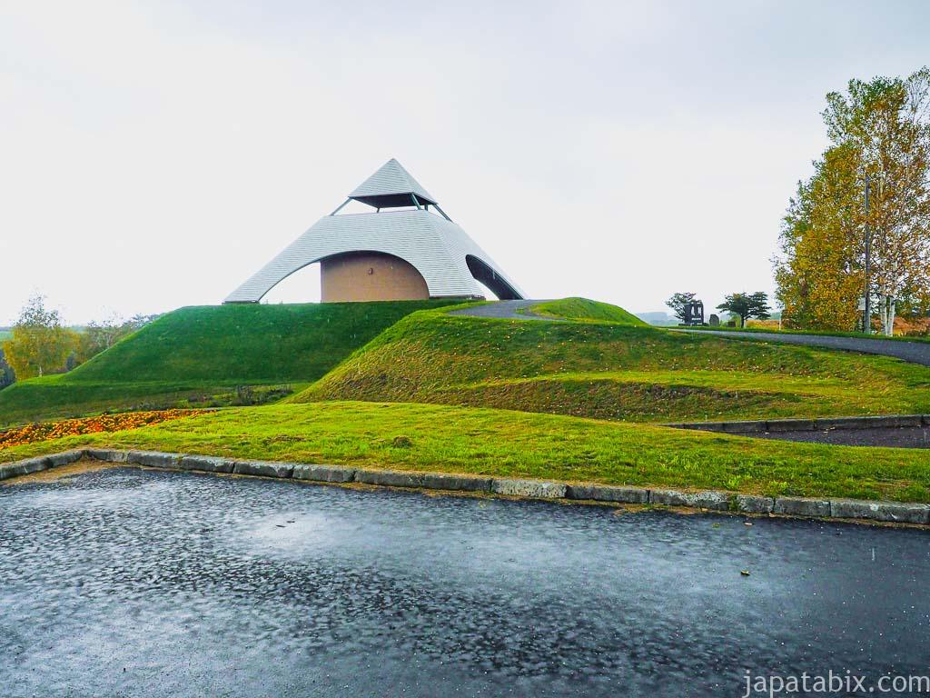北海道 美瑛町 北西の丘展望公園