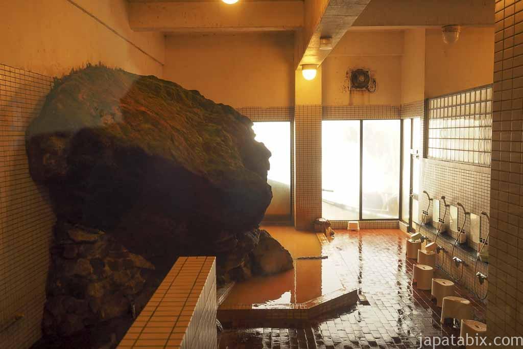 北海道 上富良野町 十勝岳温泉 内湯