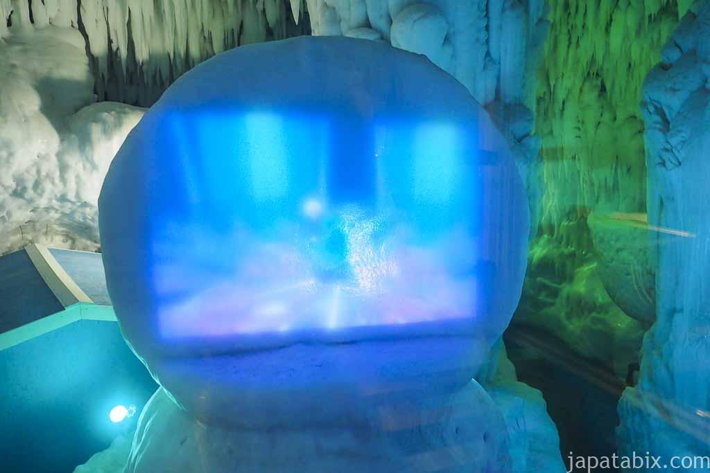 氷の美術館 北海道アイスパビリオン 氷のシアター