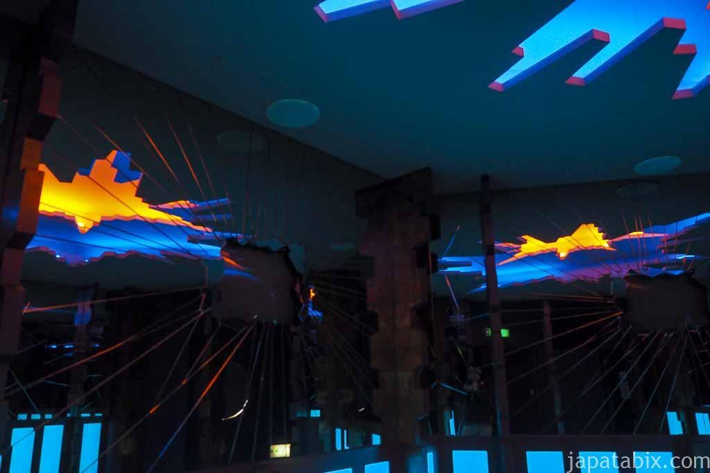 氷の美術館 北海道アイスパビリオン 氷の王様ゾーン