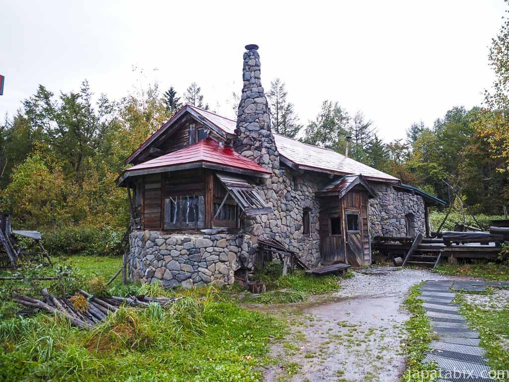 北海道 富良野市 北の国から 五郎の石の家