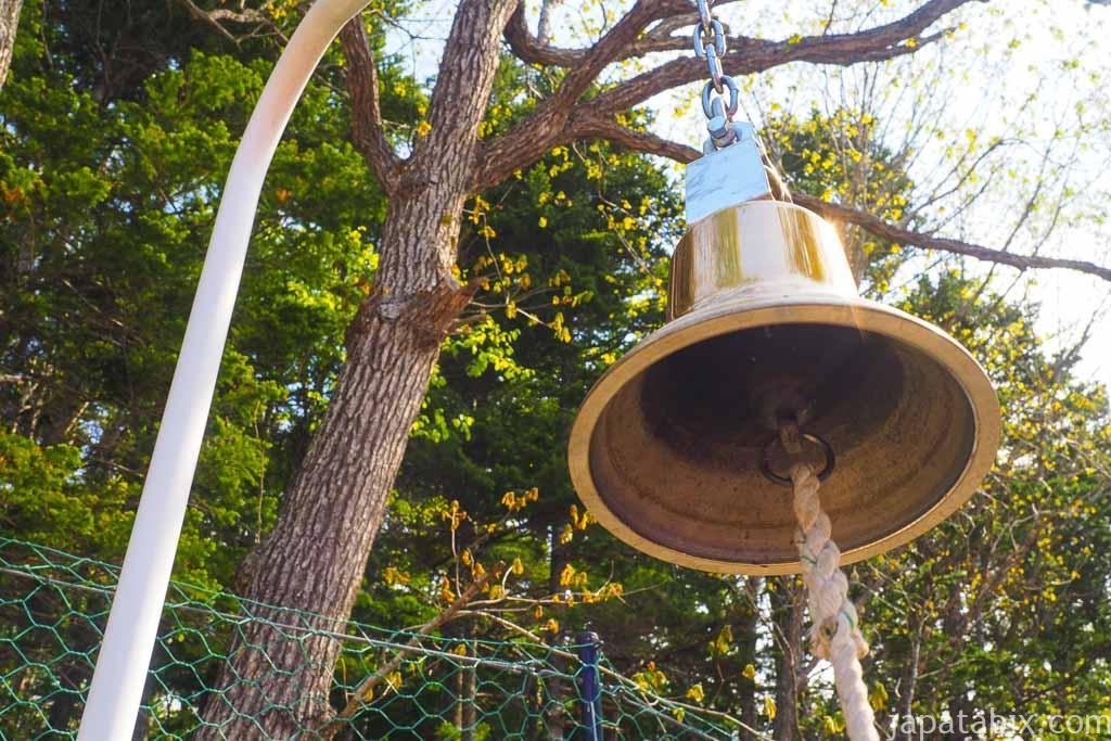 芝ざくら滝上公園 幸せの鐘
