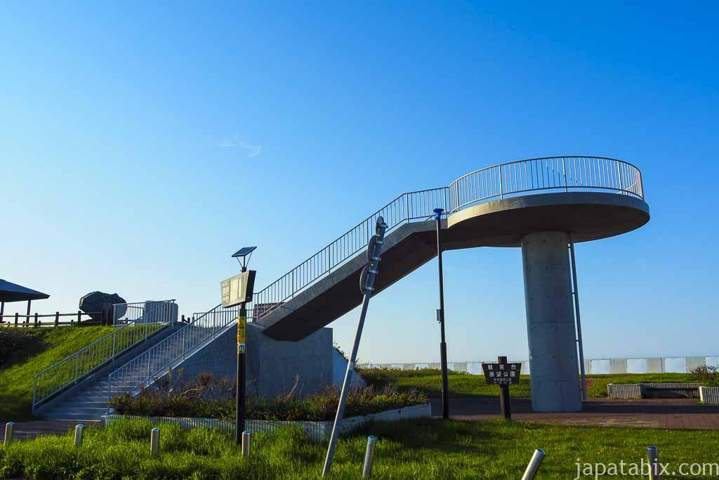 北海道湧別町 サロマ湖 龍宮台展望台