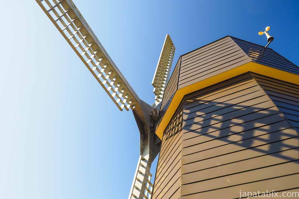 かみゆうべつチューリップ公園 風車