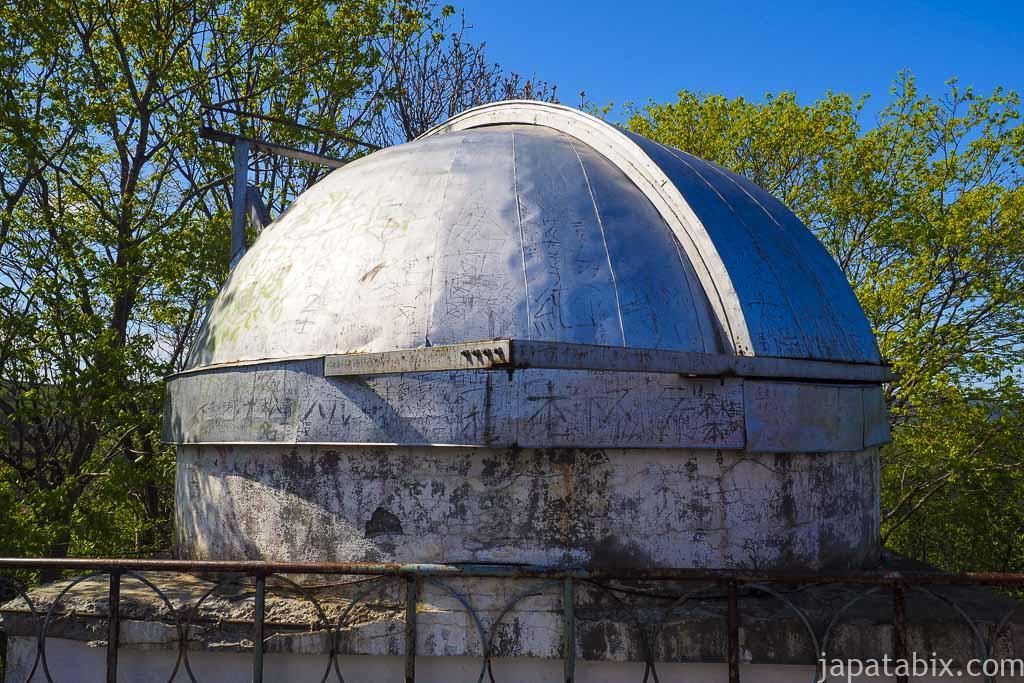 北海道紋別郡遠軽町 瞰望岩 遠軽天文台