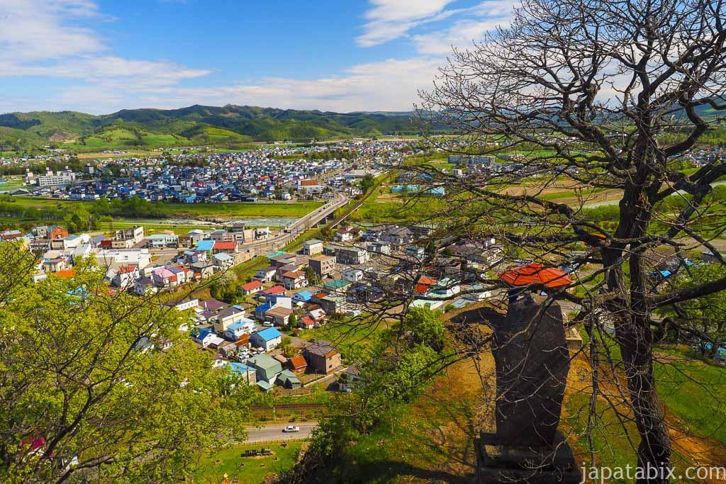 遠軽町 瞰望岩からの眺望