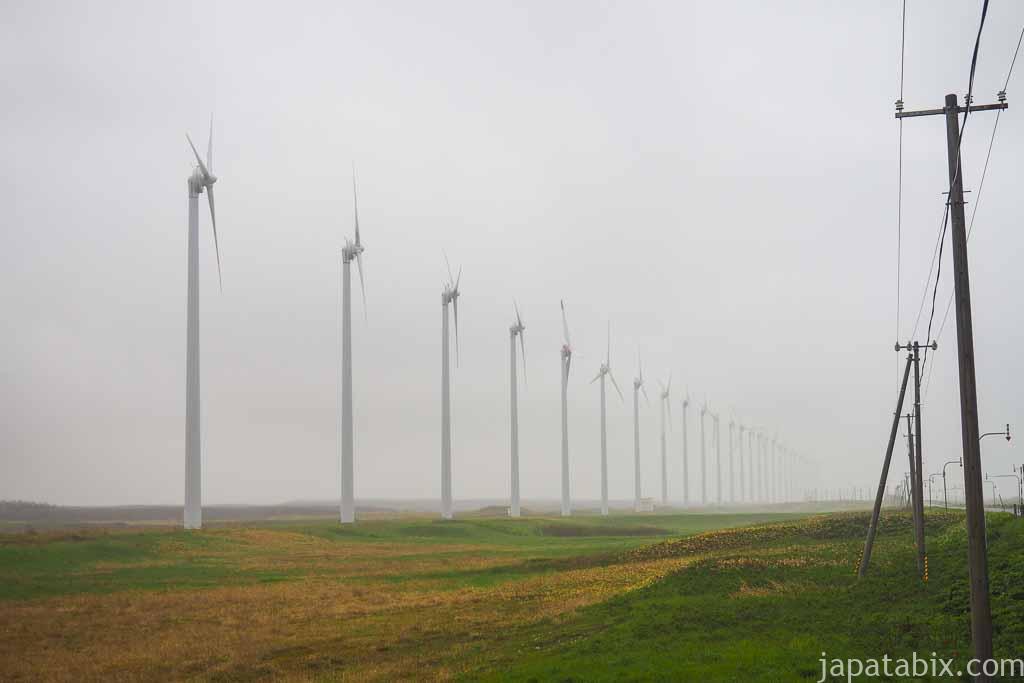 北海道 幌延町 オトンルイ風力発電所