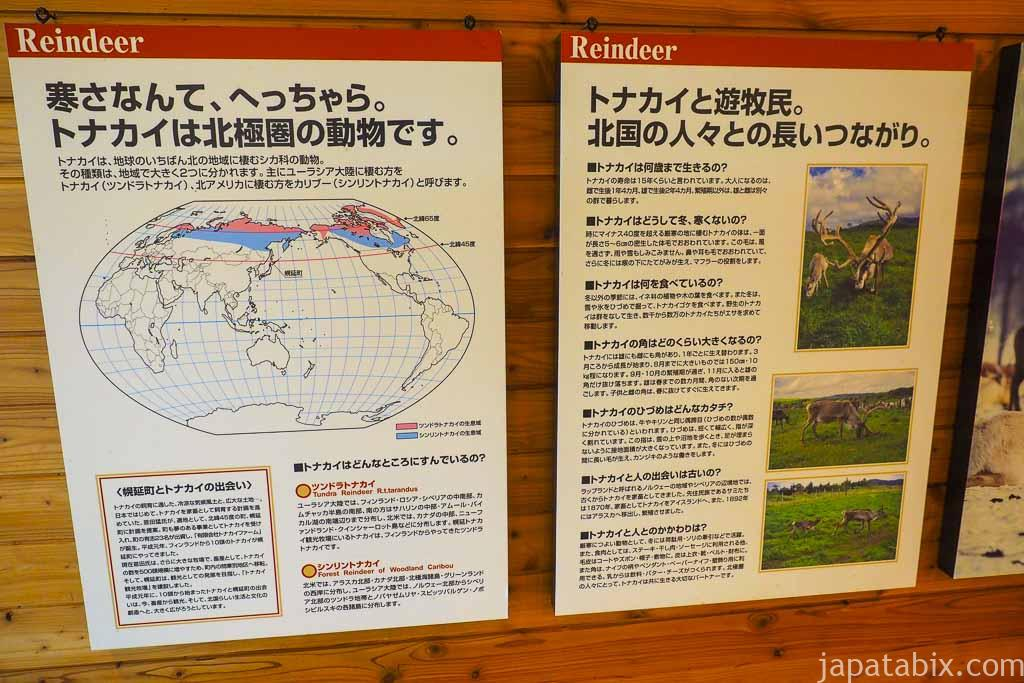 北海道 幌延町 トナカイ観光牧場 解説