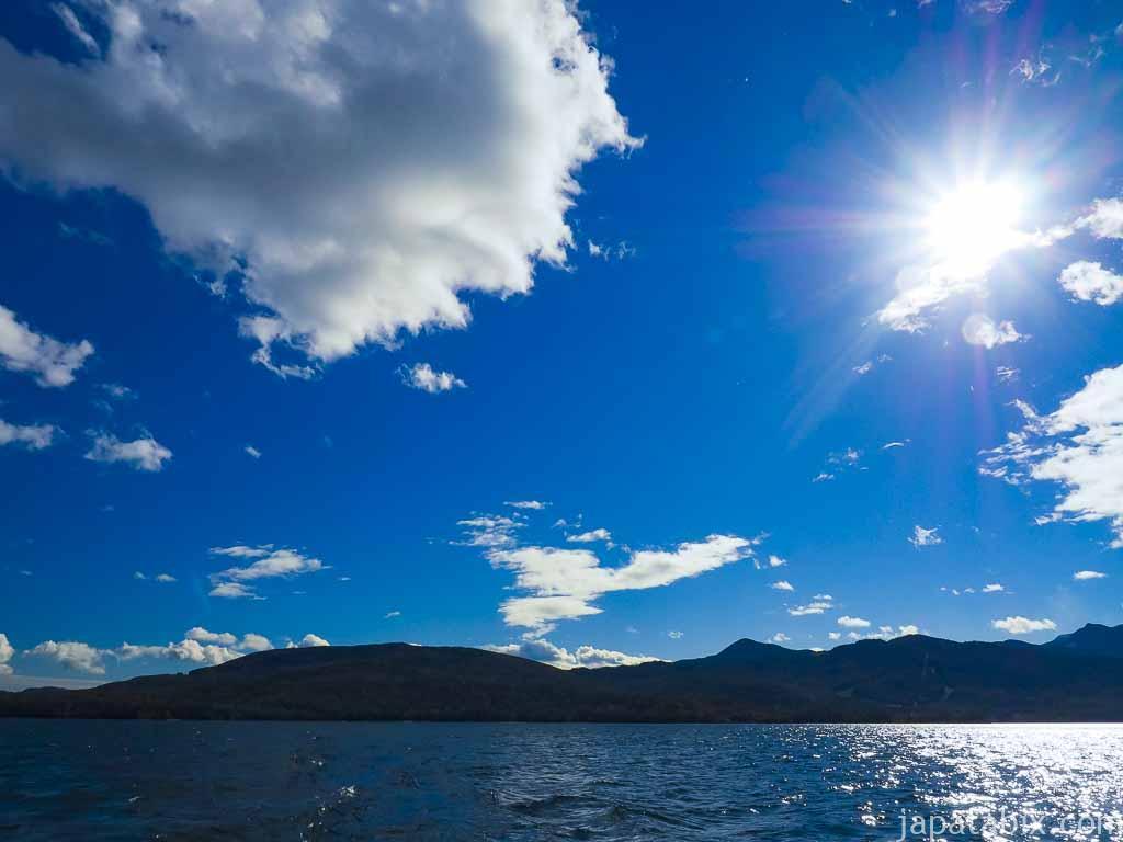 阿寒湖の景色