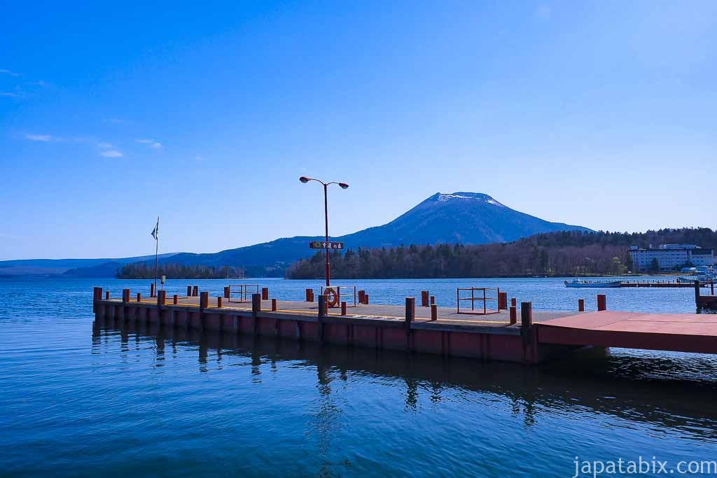 阿寒湖 幸福の森桟橋