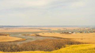 霧多布湿原 琵琶瀬展望台からの眺め