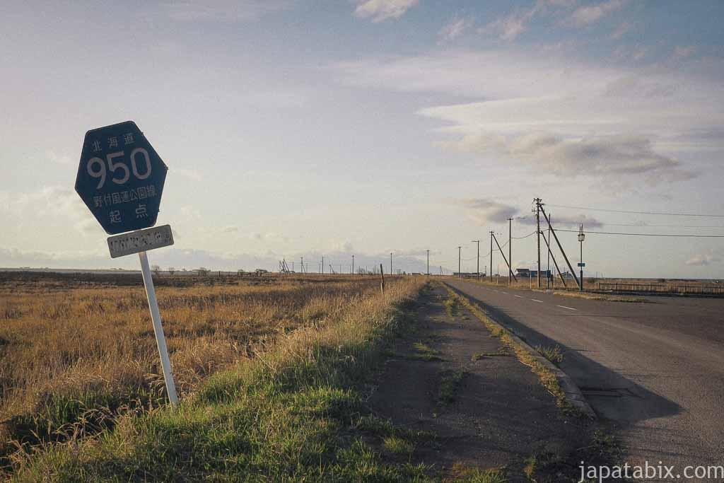 道道950号線の起点