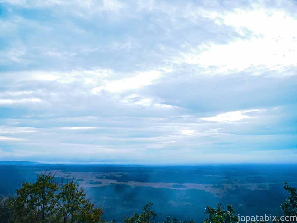 釧路湿原 北斗展望台からの眺望