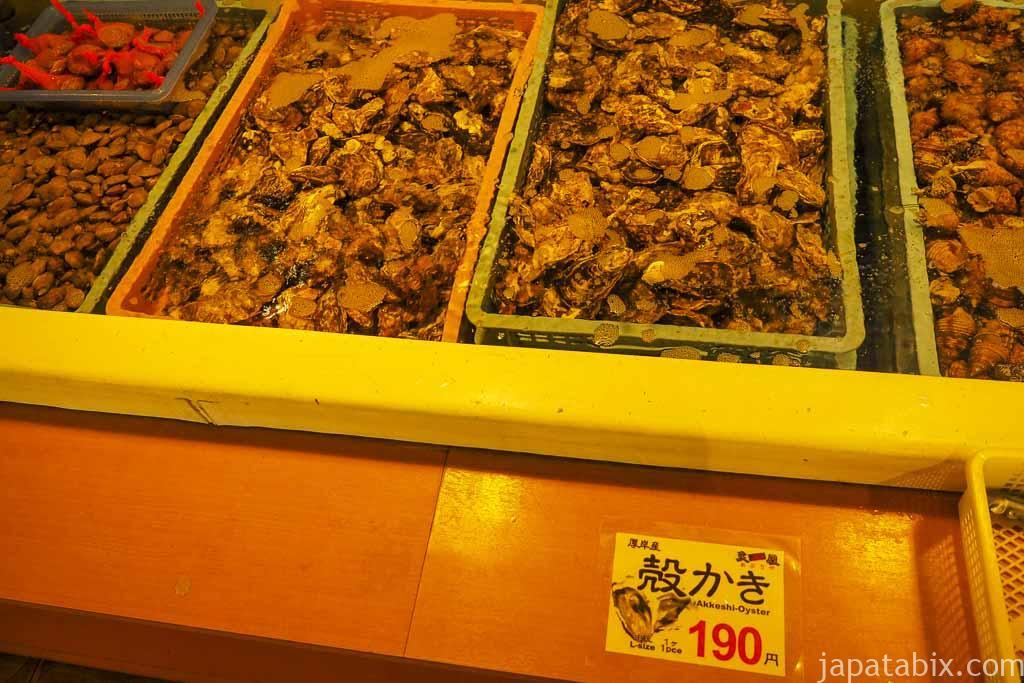 厚岸味覚ターミナル コンキリエ 牡蠣