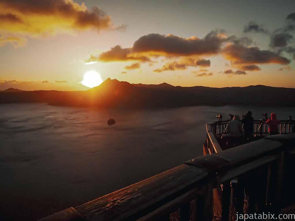 摩周第三展望台から見る日の出