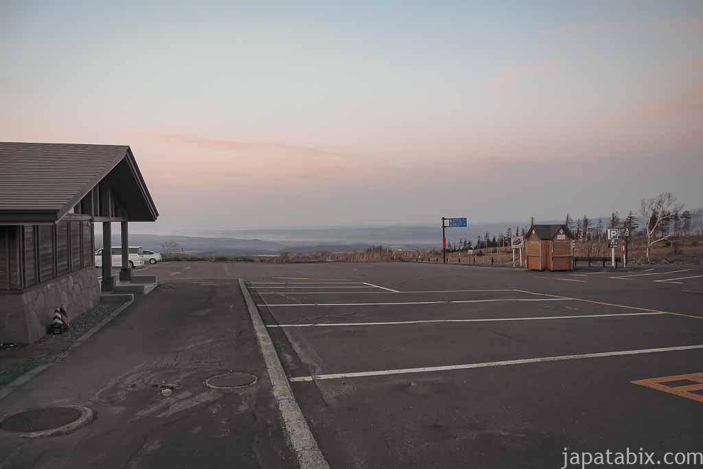 摩周第一展望台 駐車場