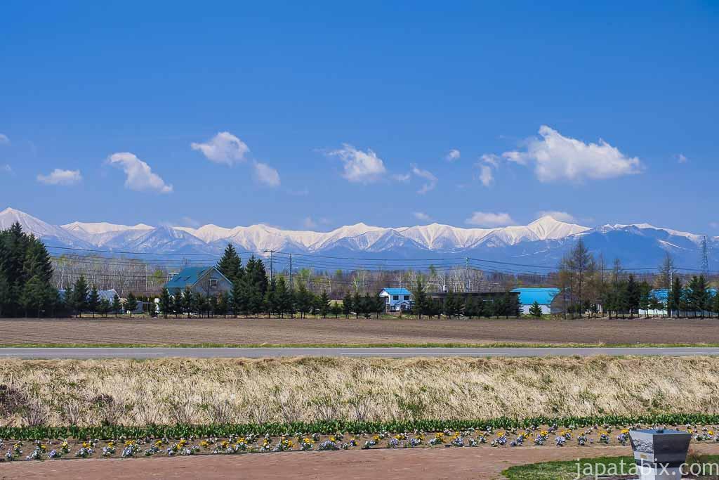 残雪の日高山脈