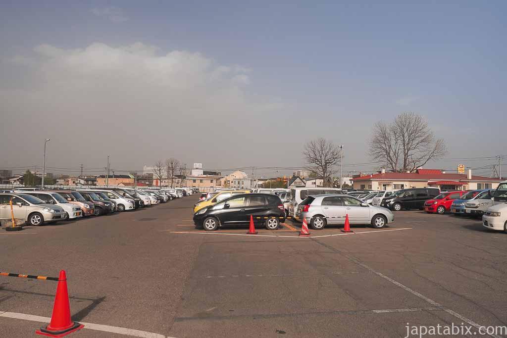 北海道帯広市 帯広競馬場 駐車場