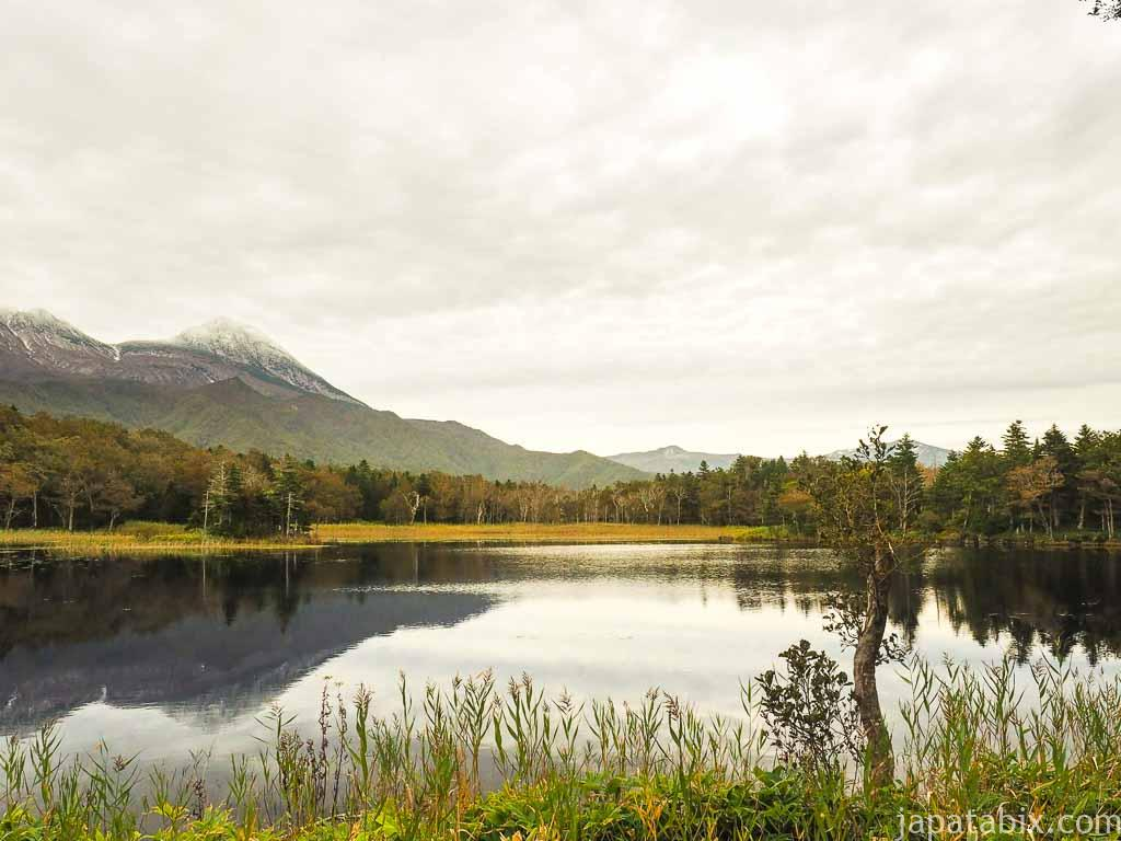 知床五湖の二湖