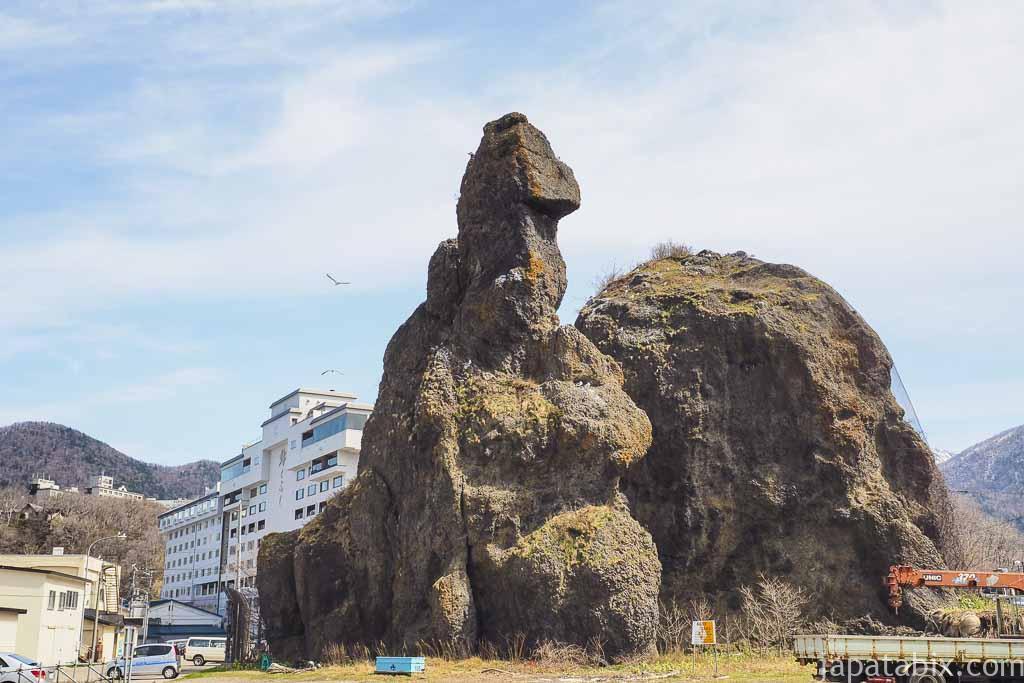 北海道斜里町 知床 ゴジラ岩