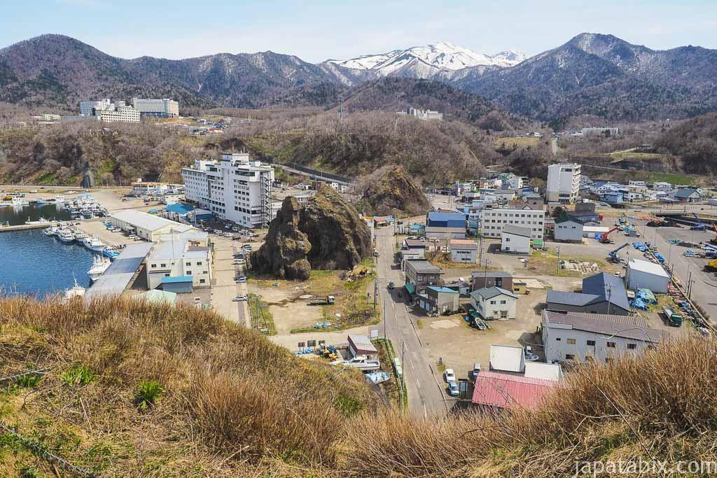 北海道斜里町 知床 オロンコ岩からの眺め