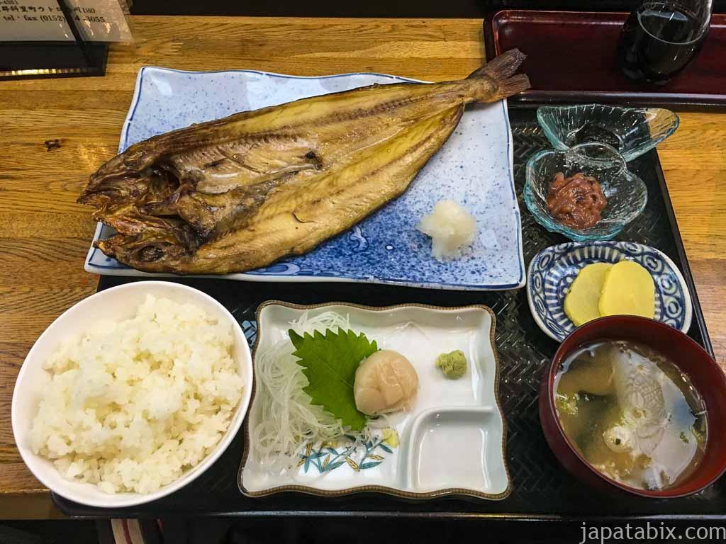 北海道斜里町 海鮮料理 番屋 ほっけ