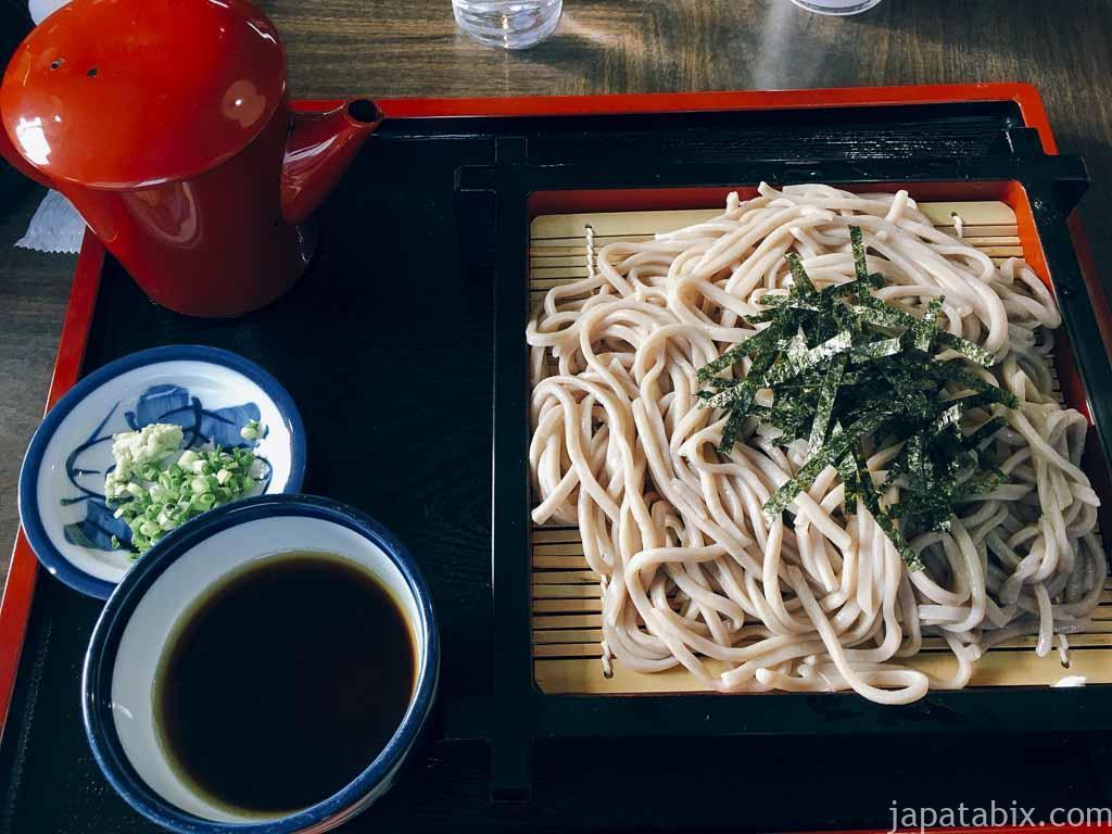 北海道新得町 蕎麦処せきぐち ざるそば