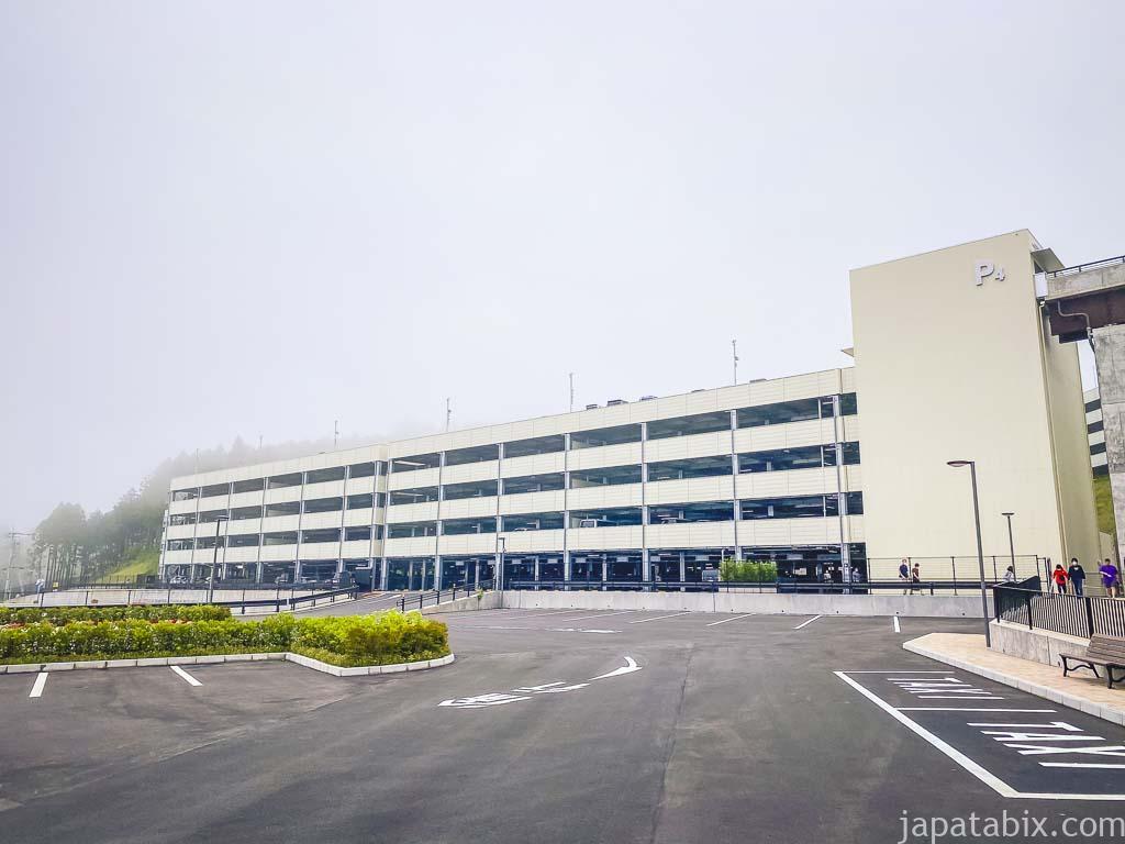御殿場プレミアムアウトレット P4立体駐車場