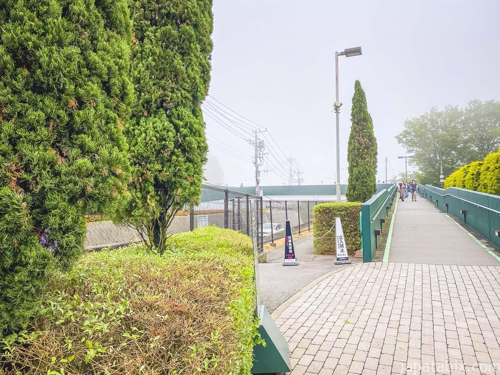 御殿場プレミアムアウトレット P2立体駐車場