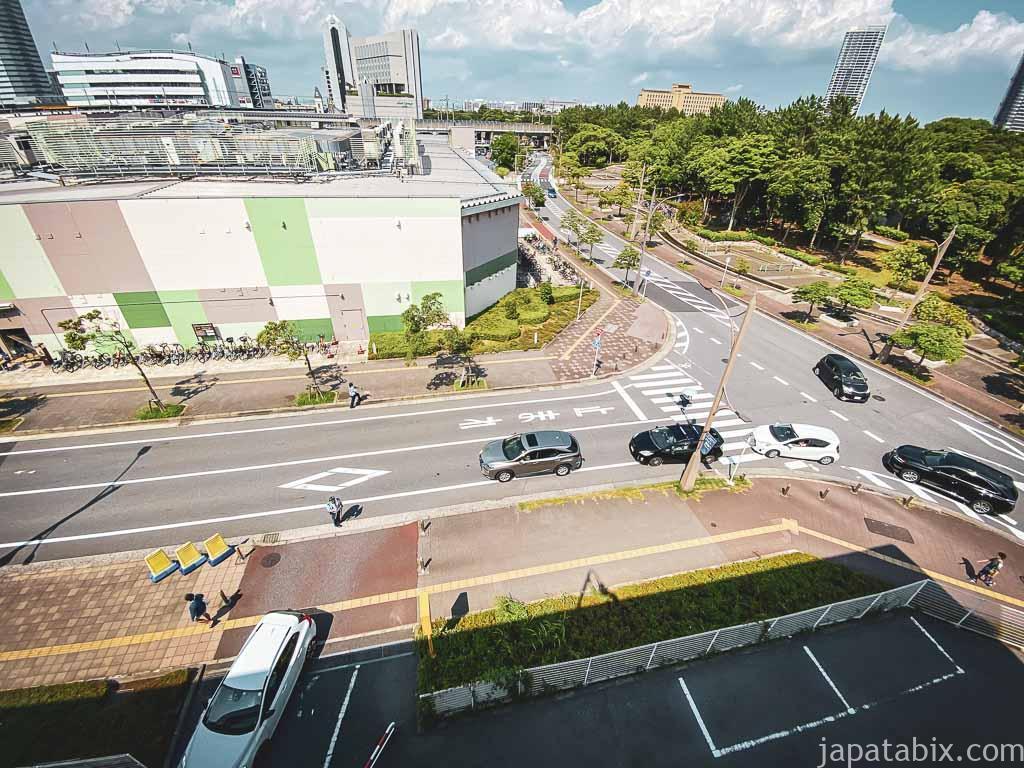三井アウトレットパーク幕張 駐車町の行列