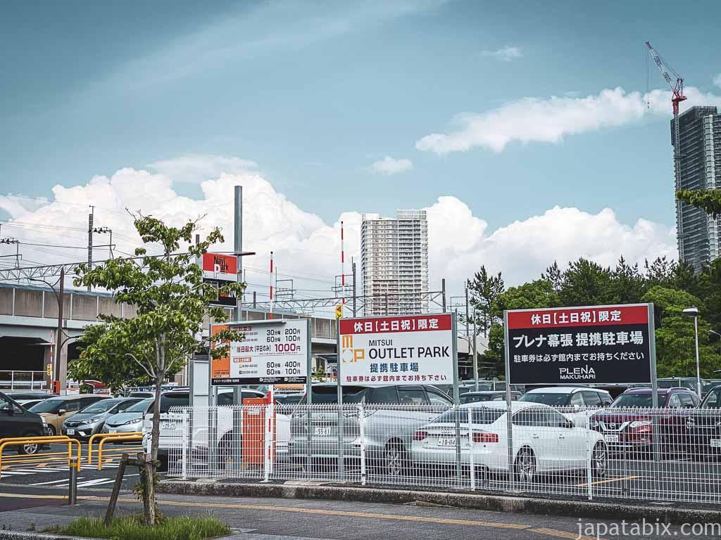 三井アウトレットパーク幕張 臨時提携駐車場 P6