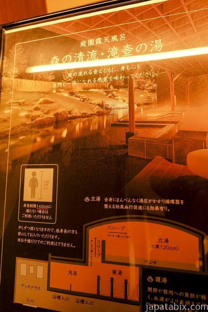 十勝川温泉 第一ホテル 豊洲亭 豆陽亭 滝壺の湯