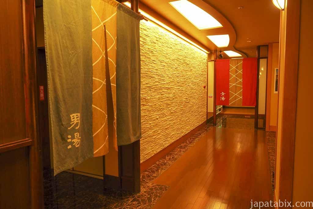 十勝川温泉 第一ホテル 豊洲亭 豆陽亭 大浴場入り口