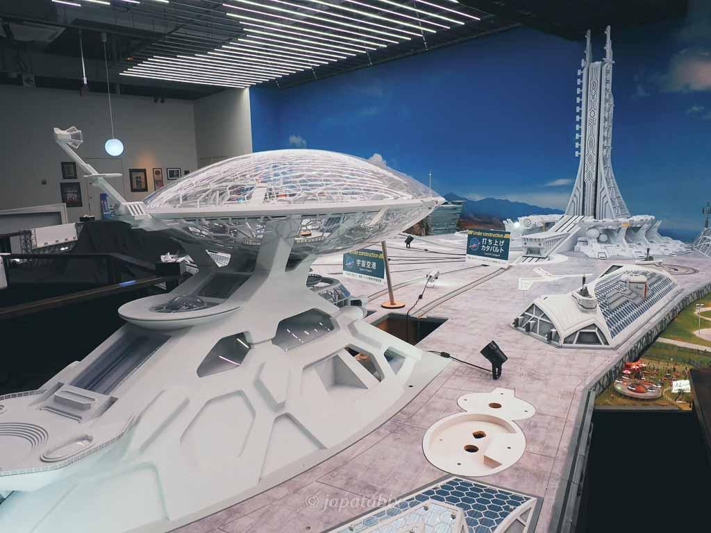 スモールワールズ東京 宇宙センター